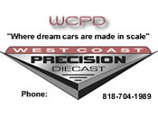 West Coast Precision Diecast.