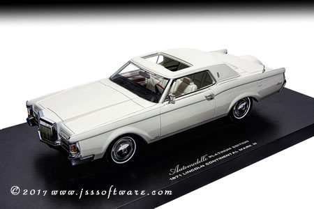 1970 Lincoln Mark III w/ Removable Roof Panel