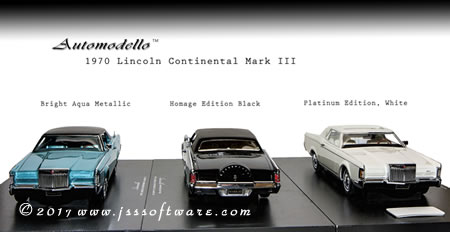 Automodello 1970 Lincoln Mark III