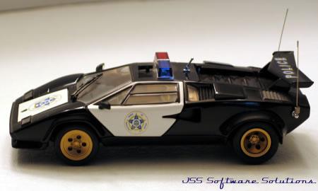 1985 Lamborghini Police Car