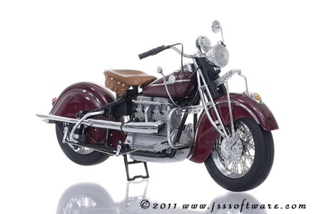 1942 Indian Indian Motorcycle (Original Issue)
