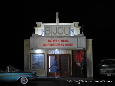 2007 Diorama BIJOU Movie Theater